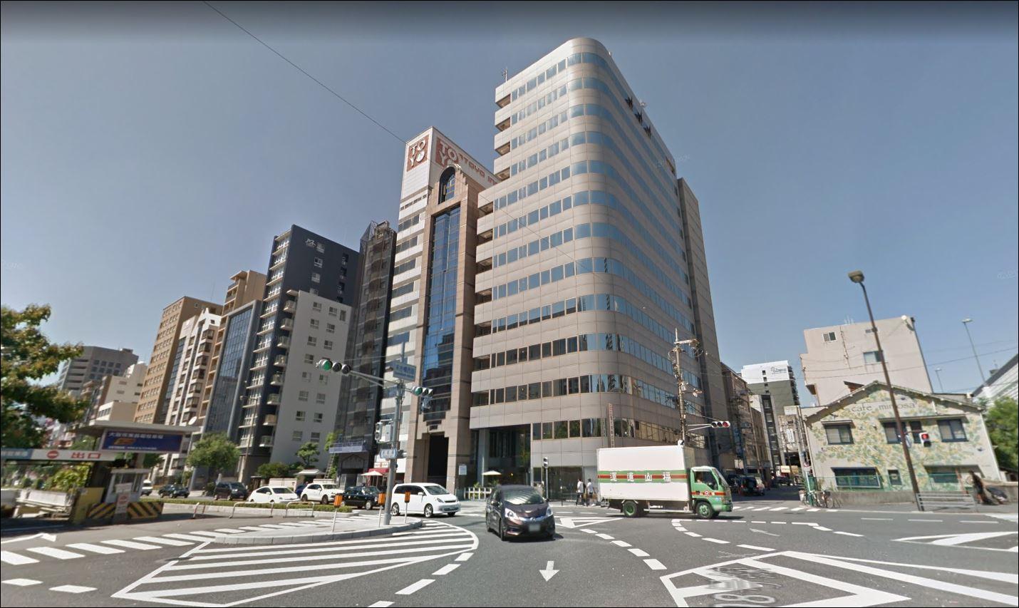 [你的資產組合] 大阪 中央区 地標式 事務所+舖位 1億 ! 全幢連地皮 永久歸你所有 !