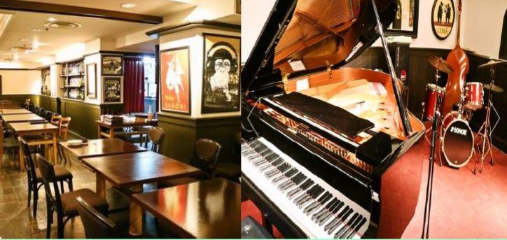 大阪茨木市高回報穏定收租3128呎Jazz Bar舖位 現場演奏爵士音楽