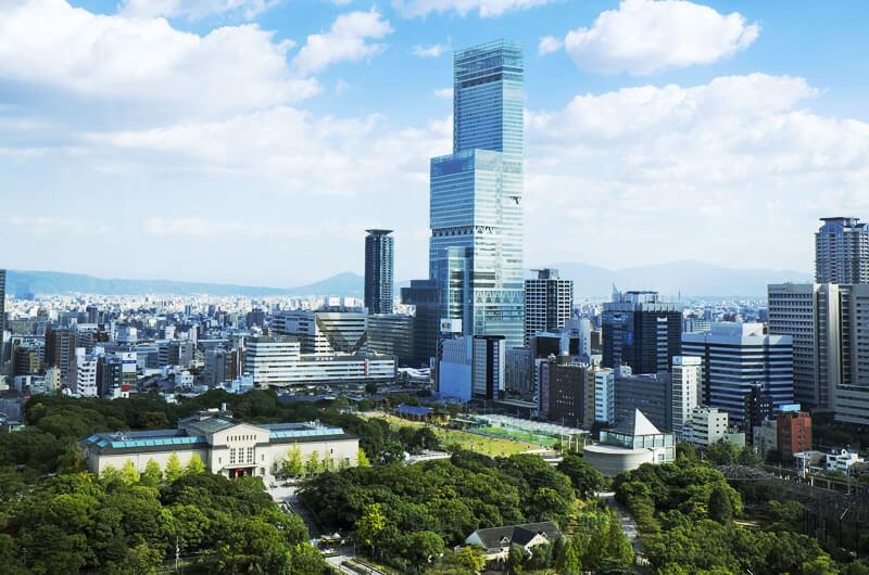 大阪大站天王寺, 2004年600呎樓, 鄰近新地標「阿倍野海闊天空大廈」,潛力極大!