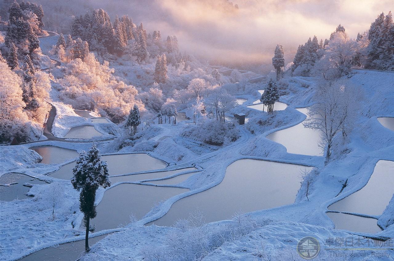 日本冬季絕景 雪國的傳統美——新潟県雪之景色